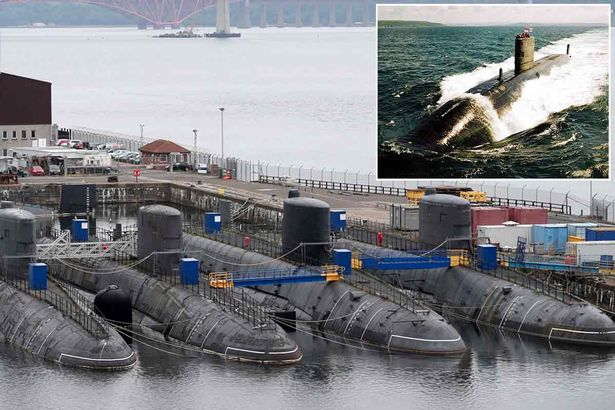 Retired Royal Navy nuclear submarines cost £30million-a-year