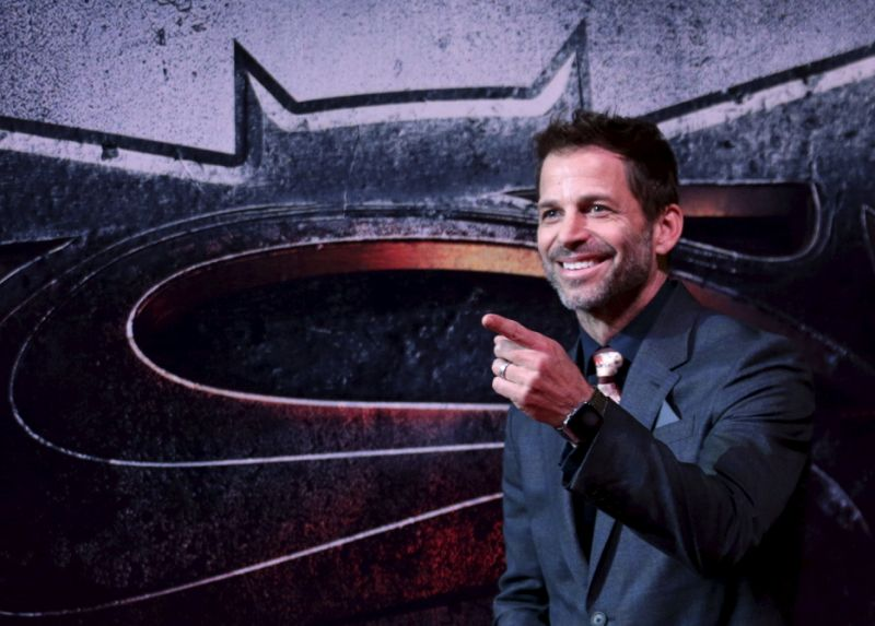 "Director Zack Snyder poses as he arrives on the red carpet for the screening of the movie ""Batman v Superman: Dawn Of Justice"" in Mexico City, Mexico, March 19, 2016. REUTERS/Henry Romero"