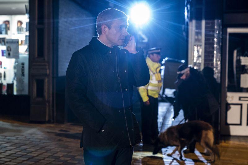 Martin Freeman as Steve Fulcher. (ITV Studios)