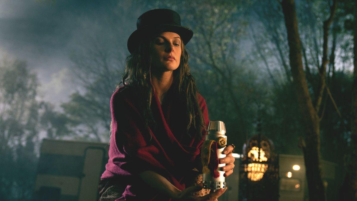 Rebecca Ferguson as villain Rose the Hat in 'Doctor Sleep'. (Credit: Warner Bros)