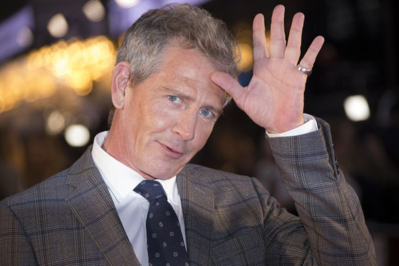 Ben Mendelsohn poses for photographers upon arrival at the premiere of the 'The King' which is screened as part of the London Film Festival, in central London, Thursday, Oct. 3, 2019. (Photo by Joel C Ryan/Invision/AP)
