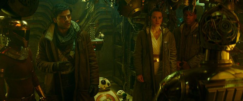 Poe, Rey and Finn in Rise Of Skywalker