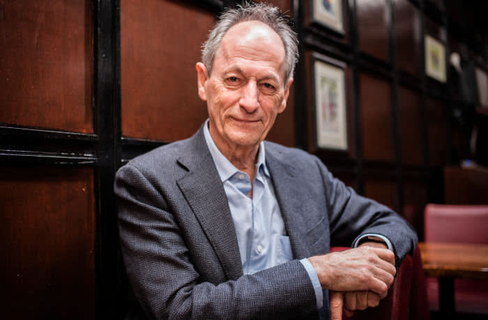 Mandatory Credit: Photo by Shutterstock (9008938f) Sir Michael Marmot Sir Michael Marmot, London, Britain - 10 Aug 2017 Sir Michael Marmot, Professor of Epidemiology and Public Health at University College London, talks about the plateau of life expectancy rates and the north south divide in terms of life spans.