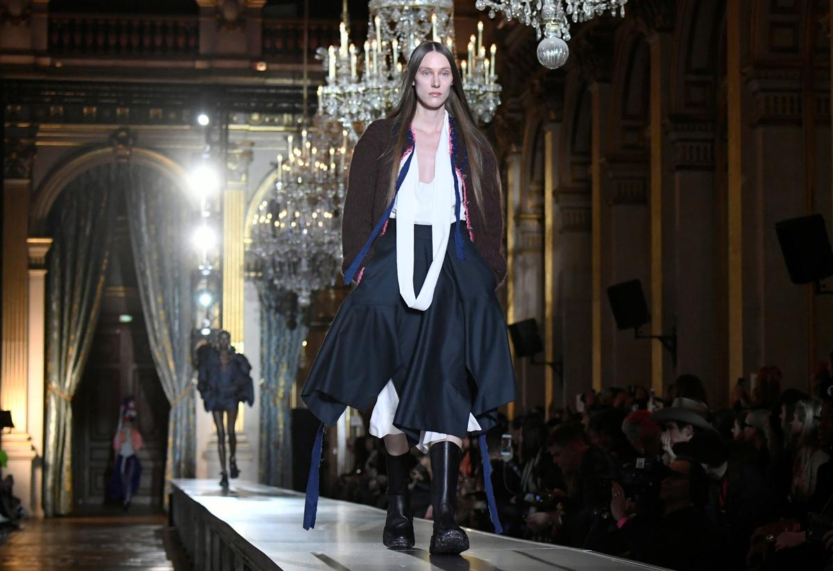 Chic And Co Paris vivienne westwood show brings gypsy chic to paris town hall