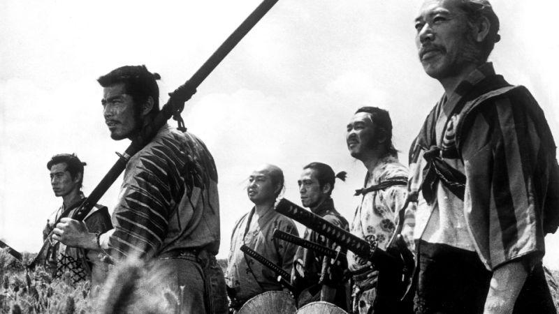 Six of the Seven Samurai gather (credit: Toho)